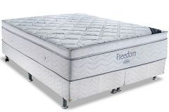 Colchão Ortobom de Molas Pocket Freedom Pillow  Visco